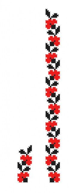 This Pin was discovered by bin Cross Stitch Borders, Cross Stitching, Cross Stitch Patterns, Loom Beading, Beading Patterns, Motifs Perler, Folk Embroidery, Seed Bead Bracelets, Needle And Thread