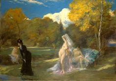 Les Baigneuses de Fontainebleau by Charles Emile Auguste Carolus-Duran