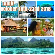 (Sold OUT please email me at rkhearn@gmail.com to be put on the waiting list) Happy in Tahiti October 18th-23rd 2018 featuring 4X4 island tours, snorkeling tours, and island BBQ