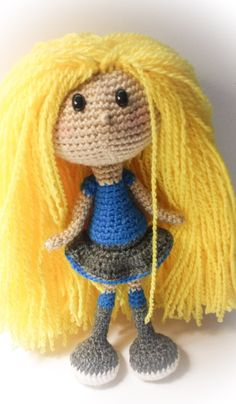 BIG Rosie Doll by Tatianapinkcrochet on Etsy ♥
