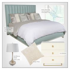 """""""Bedroom Decor"""" by kathykuohome ❤ liked on Polyvore featuring interior, interiors, interior design, home, home decor, interior decorating, bedroom, homedecor and bedroomdecor"""
