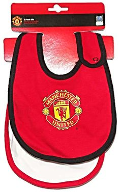 Manchester United Infant - Baby Two Bib Pack