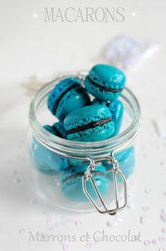 Macarons au chocolat et marrons - La popotte de Manue