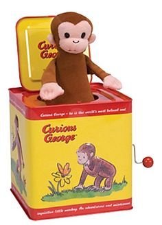 Schylling Schylling Curious George Jack In The Box - Free Shipping