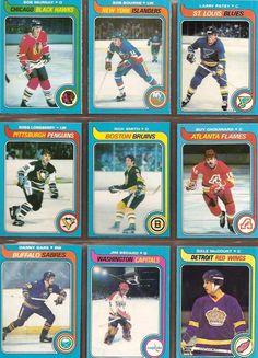 55-63 Bob Murray, Bob Bourne, Larry Patey, Ross Lonsberry, Rick Smith, Guy Chouinard, Danny Gare, Jim Bedard, Dale McCourt
