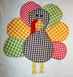 SALE Thanksgiving Shirt  Appliqued Turkey by jenny7777 on Etsy, $33.00