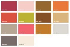 Colour Future's 2015 palette