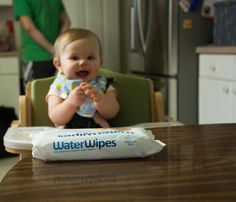 WaterWipes - The must have wipe for babies.