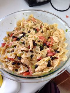 Our best bites southwest pasta salad, so fresh and delicious