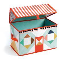 Achat de Coffre à Jouets Maison Djeco sur la boutique de jouets Jeujouet.com. Large choix de Rangements et sacs à jouets. Livraison en 24h seulement !
