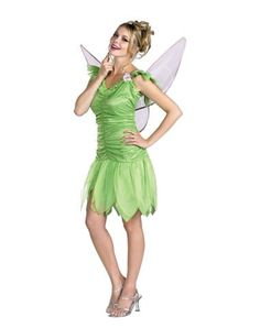 tinker bell classic adult womens costume spirit halloween - Classic Womens Halloween Costumes