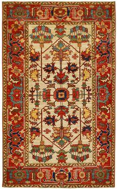 Afghan Heriz Oriental Rug #42530
