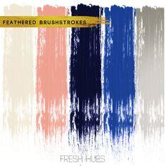 brushstrokes | fresh hues | color + inspiration