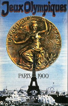 Beautifully Designed Olympic Posters from 1896 to Today Paris 1900 Vintage Ads, Vintage Posters, Vintage Sport, Vintage Travel, Swimsuit For Small Chest, Paris 1900, Paris France, Olympic Logo, Modern Games