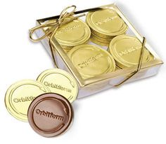 12-pc Deluxe Chocolate Coin Box