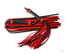 PATENT leather flogger set BDSM toy  45 falls each by WhipsbyWolf