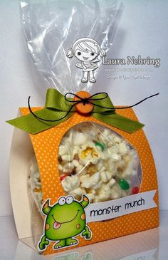 Easy Treat Bag! So Easy... (w/rice krispy treat...)