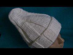 Вязание удлиненной шапки . - YouTube