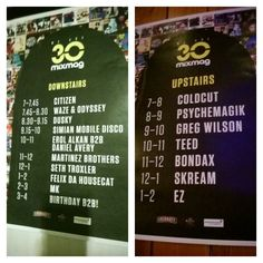 Private party for MixMag 30th! Love my job!! #guestlist #music #intern
