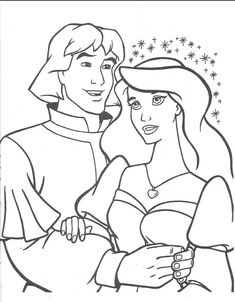 Swan Princess Coloring Pages - Printable Coloring Pages Panda Coloring Pages, Frozen Coloring Pages, Horse Coloring Pages, Alphabet Coloring Pages, Colouring Pages, Adult Coloring Pages, Coloring Books, Coloring Sheets, Kids Colouring