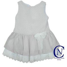 Vestido de ceremonia Confecciones Anavig para niña talle bajo