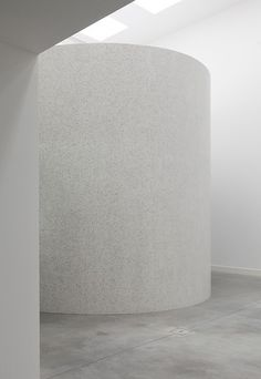 John Pawson designed installation inside the Plain Space exhibition in the Fondazione Bisazza in Montecchio Maggiore, Italy.