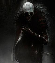 """Assassin Nocturne"" by Olivier Le Gall // Olgenki Magic Creatures, Fantasy Creatures, Arte Horror, Horror Art, Zombies, Arte Peculiar, World Of Darkness, Creepy Art, Creepy Dude"