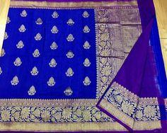 Pure handloom banaras dupion pattu sarees with silk mark Banaras Sarees, Silk Sarees, Elegant Fashion Wear, Trendy Fashion, Indian Fashion, Sari, Textiles, Pure Products, Quilts