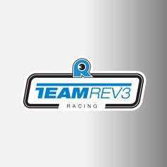 "Team Rev3 Racing Logo Decals, 2"""