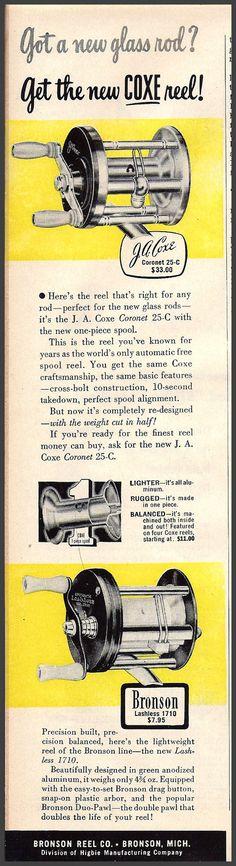 1951 Bronson Coxe ad.