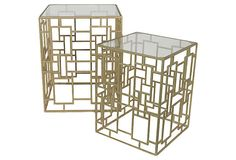 Vaughn Side Tables, Set of 2 on OneKingsLane.com