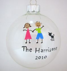 Hey, I found this really awesome Etsy listing at https://www.etsy.com/listing/53369070/family-christmas-ornament-handpainted