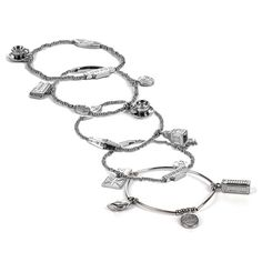 2012 London Olympic Games Charm Bracelet Designed by Diane Katzman Exclusively for NBC - Set of 5