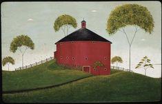 Warren Kimble, Shelburne Barn