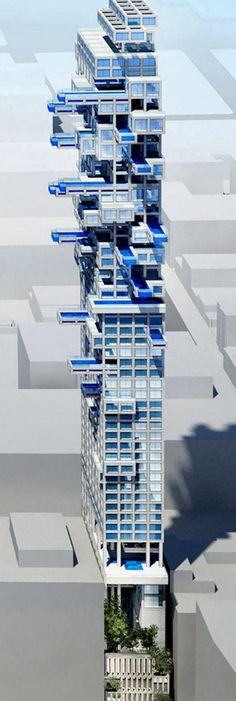 Developer wants to revitalize downtown Los Angeles by building a tower with plentiful sky pools | News | Archinect