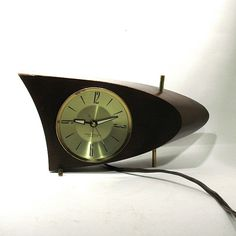 Vintage Westclox Boomerang Clock  Atomic Era by OnlyCoolStuff, $76.00