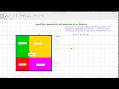 Quadrato di un binomio (somma di due monomi) - YouTube