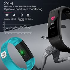 InnKoo Fitness Tracker Watch for Kids Women Men, Waterproof Activity Tracker with HR Heart Rate & Blood-Pressure Monitor, Pedometer Steps Calories Counter Smart Wristband, Color Screen Fitness Watches For Women, Watches For Men, Sport Watches, Men's Watches, Heart Rate Monitor App, Best Smart Watches, Wireless Camera, Bluetooth, Smart Bracelet