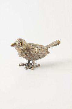 Golden Finch Ring Dish #anthropologie