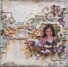 Love You - Dusty Attic DT ⊱✿-✿⊰ Follow the Scrapbook Pages board & visit GrannyEnchanted.Com for thousands of digital scrapbook freebies. ⊱✿-✿⊰