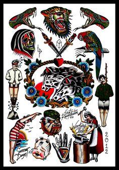Gonzalo Muñiz MatitoTattoo Flash | KYSA #ink #design #tattoo