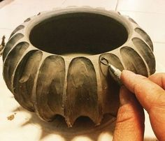 Carving Clay | Sculpture | Pottery