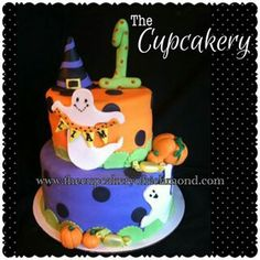 Halloween Cake By The Cupcakery In Richmond Va