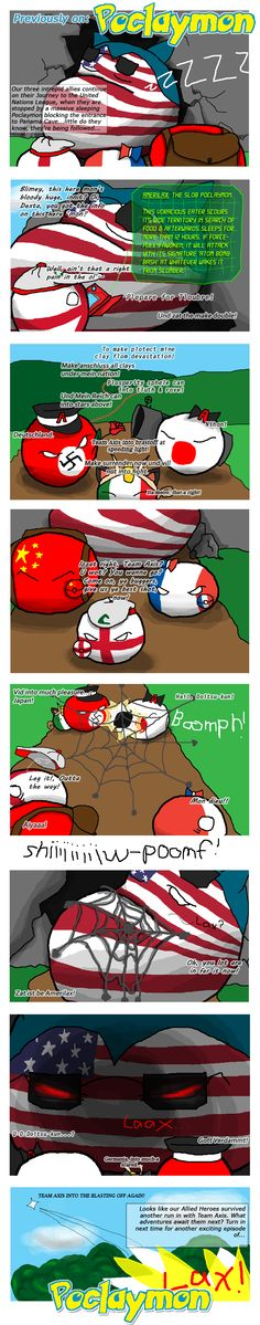 Poclaymon ( USA, England, France, China, Germany, Japan, Italy ) by Zephy…