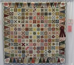 Dear Jane by Barbara Reese. Outstanding First time Entry. 2012 Best of the Valley Quilt show (California)