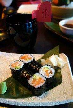 'Cocochan and the Flippin' Fabulous Fish' #London #Cocochan #PanAsian Cocochan Salmon and Avocado Hoso Maki