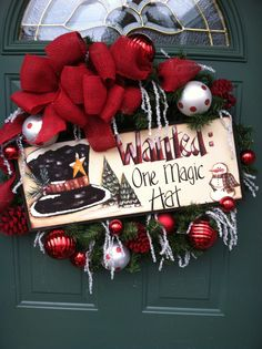 Christmas Wreath WREATHS BY CHERIE on Facebook