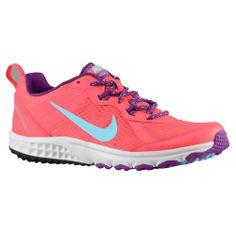 Nike Wild Trail - Women's - Running - Shoes - Laser Crimson/Bright Grape/Pure Platinum