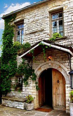 TRAVEL'IN GREECE | Traditional House, Papigo village, #Epirus, #Greece…