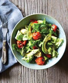 Vegan Roasted Vegetable Salad from Everyday Detox cookbook by @detoxinista Vegan, Gluten Free, Dairy Free, Paleo, Vegetarian, Healthy, Recipes.